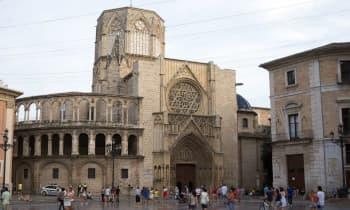 Plaza de la virgen à Valence