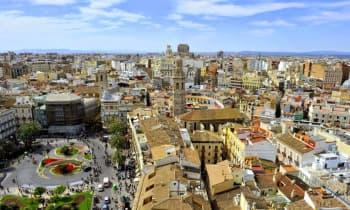 Vue sur la ville de Valence